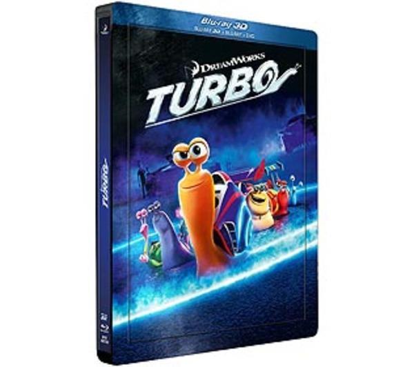[BLU-RAYD-3D] Turbo (Combo 3D + + DVD - Édition boîtier SteelBook)