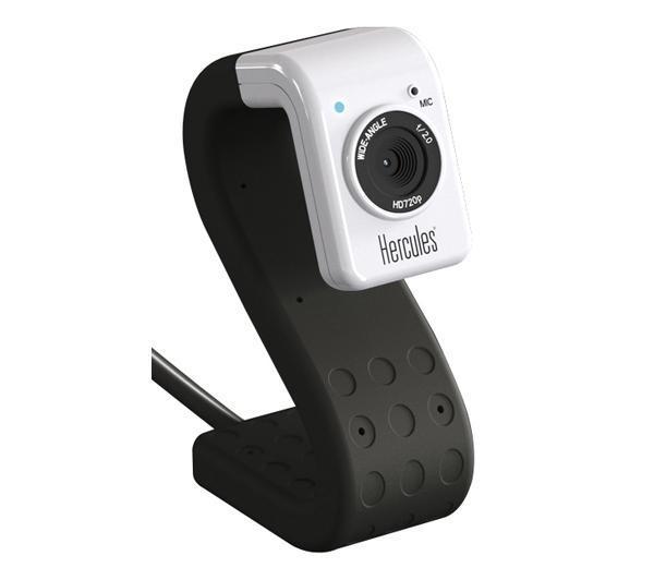 Webcam HERCULES TWIST NOIR