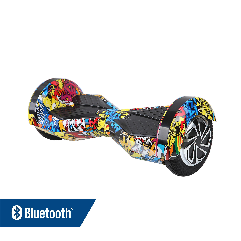 Hoverboard Gyropode Skate MR8 Urban Art Bluetooth