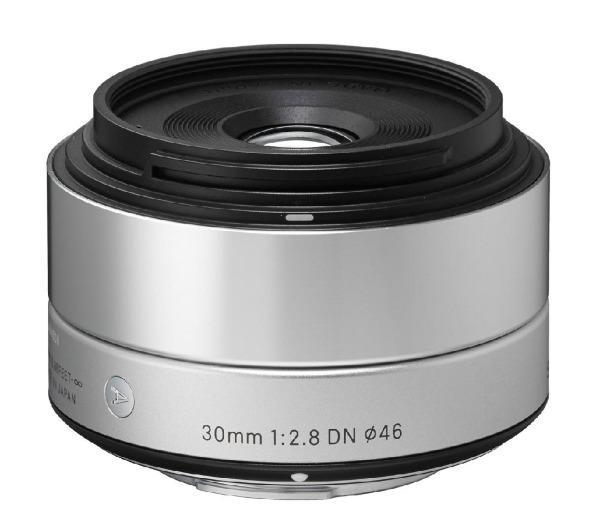 Art 30 mm f/2,8 DN zilver - Lens voor Sony - E-mount