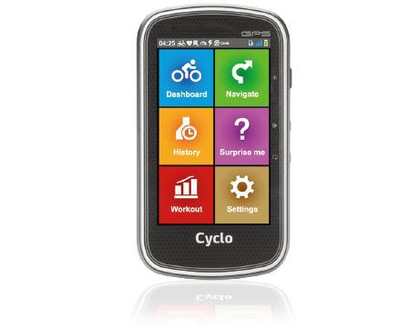 """Cylo 405 navigateur 10,2 cm (4"""") Écran tactile Portable/Fixe Noir, Argent 177 g"""
