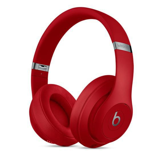 BEATS BY DR.DRE Studio 3 - Rouge - Casque audio sans fil