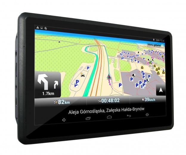 """MOVIO 3 navigateur 17,8 cm (7"""") Écran tactile Fixé Noir"""