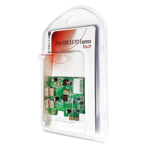 PCIe-2P carte et adaptateur d'interfaces Interne USB 3.0