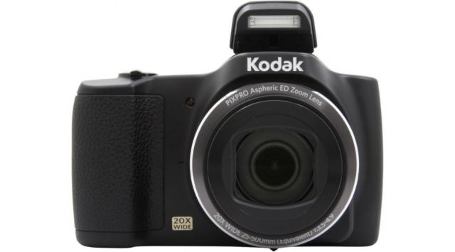 """KODAK PIXPRO FZ201 Appareil-photo compact 16 MP 1/2.3"""" CCD (dispositif à transfert de charge) 4608 x 3456 pixels Noir"""