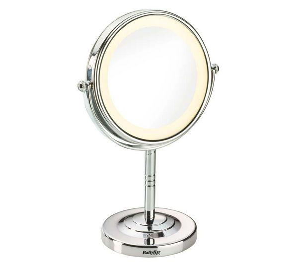 Vanity Mirror With Lights All Round : Illuminated vanity mirror - BABYLISS - 8435E Round Illuminated Mirror Pixmania
