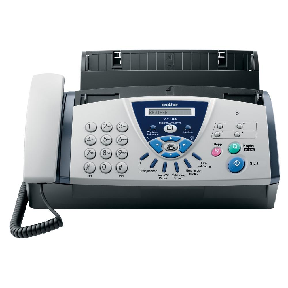 FAX BROTHER FAX T106 NOIR BLANC