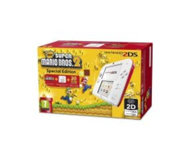 2DS - New Super Mario Bros. 2 Special Edition - Console de jeu portable - blanc, rouge - New Super Mario Bros 2
