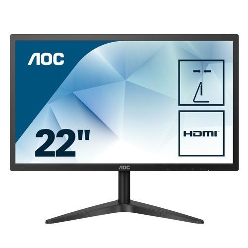 """22B1H écran plat de PC 54,6 cm (21.5"""") Full HD LED Noir"""