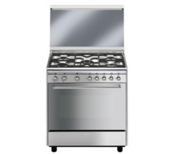 sx81m1 cucina 80x50 5 fuochigas forno elettrico multifunzione 8 78l classe a inox