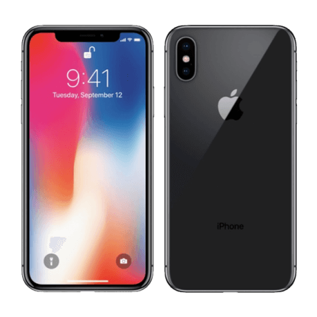 APPLE Grade A+ iPhone X 64 Go Gris sidéral