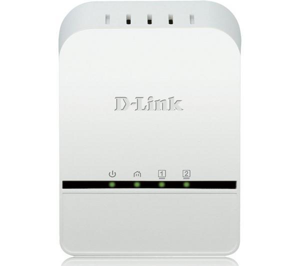 Adaptateur CPL D LINK DHP328AV BLANC 2PORTS