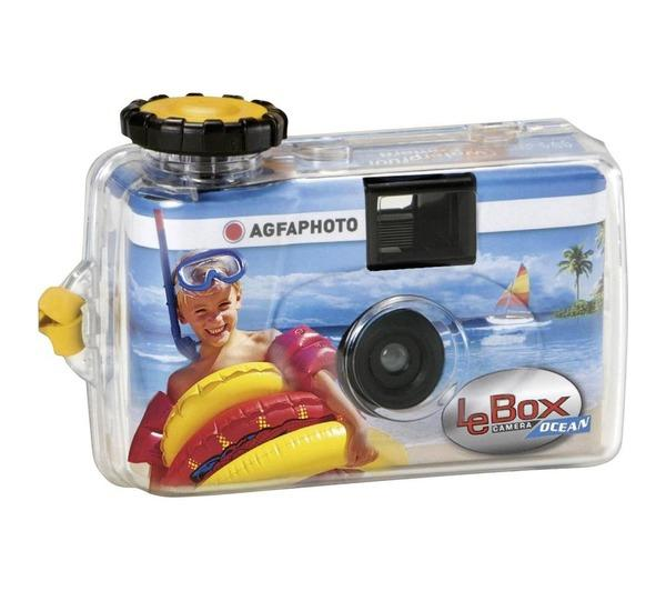 agfaphoto lebox ocean 400 27 single use underwater