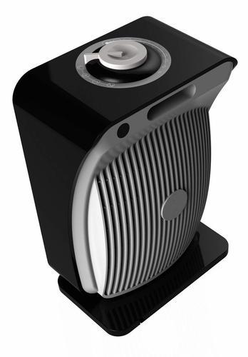 AR4F06 appareil de chauffage Chauffage soufflant Intérieur Noir, Argent 2000 W