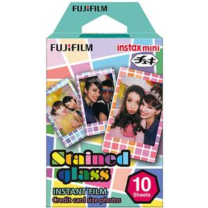 Film INSTAX MINI Monopack de 10 vues STAINED GLASS