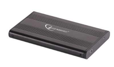 "EE2-U2S-5 Boîtier de disques de stockage 2.5"" Boîtier HDD Noir"