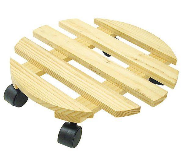 otros accesorios - greengers - soporte redondo con ruedas para