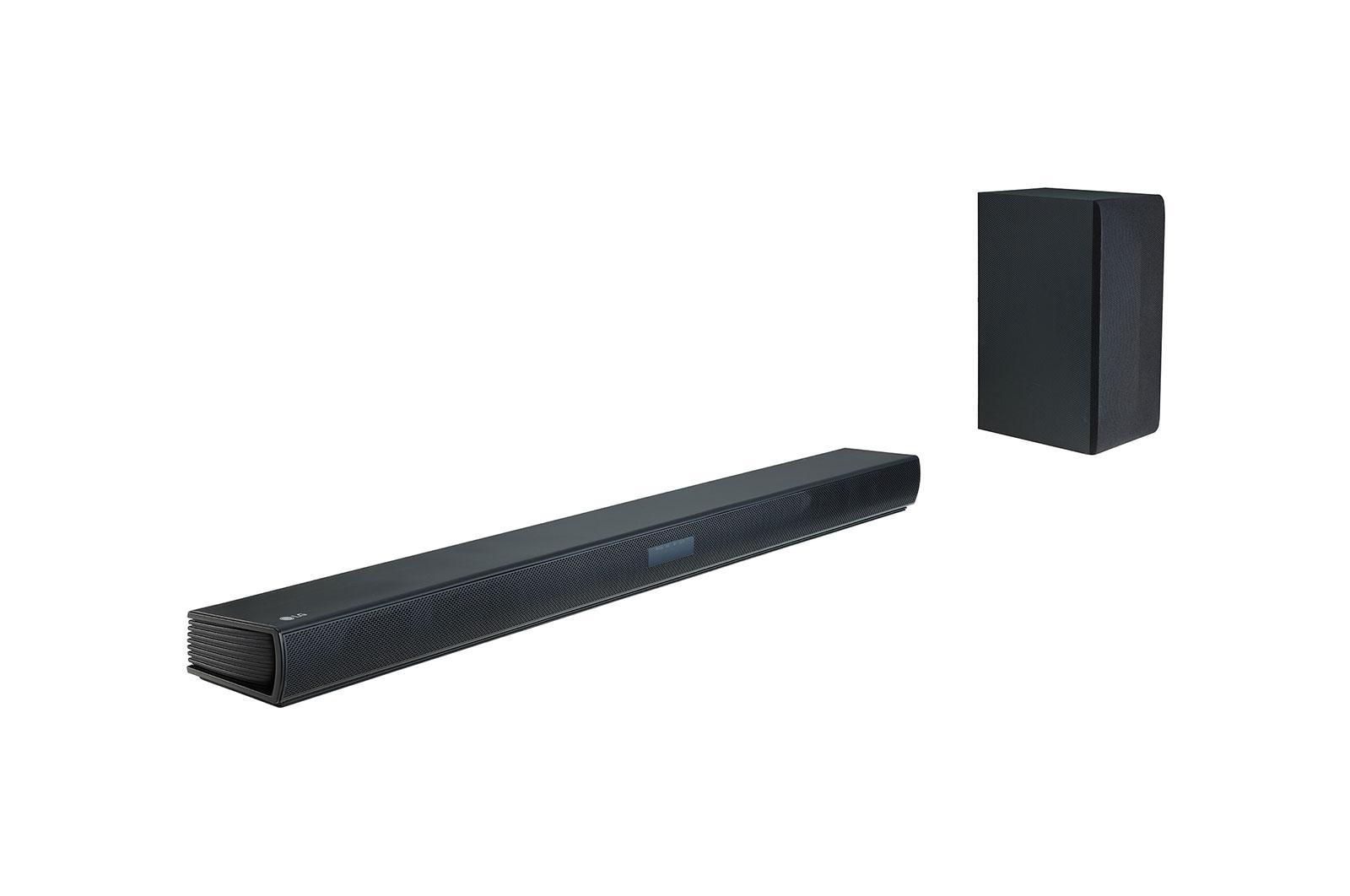SK4D haut-parleur soundbar 2.1 canaux 300 W Noir Avec fil &sans fil