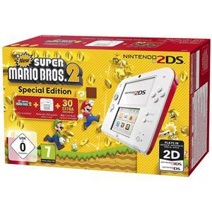 2DS blanc & rouge + New Super Mario Bros. 2