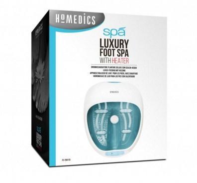 ELMFS-250-EU bain de pieds Bleu, Blanc