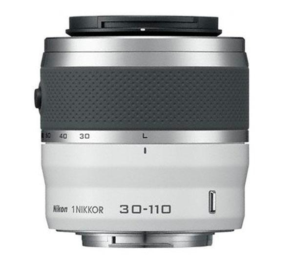 1 NIKKOR 30-110mm f/3.5-5.6 VR - gelakt wit - Lens voor 1
