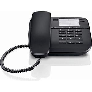 Gigaset DA410 - Telefoon met snoer - zwart