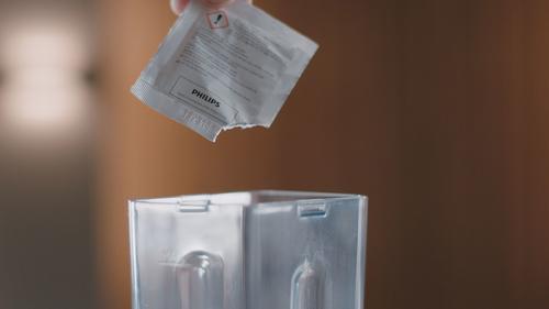Sachets de nettoyant de circuit de lait CA6705/10