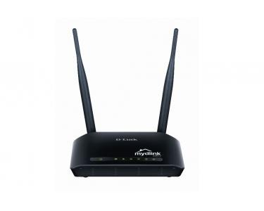 DIR-605L/E Fast Ethernet Noir routeur sans fil