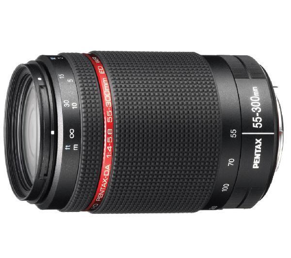 HD DA 55-300 mm f/4-5.8 ED WR - Lens voor Pentax