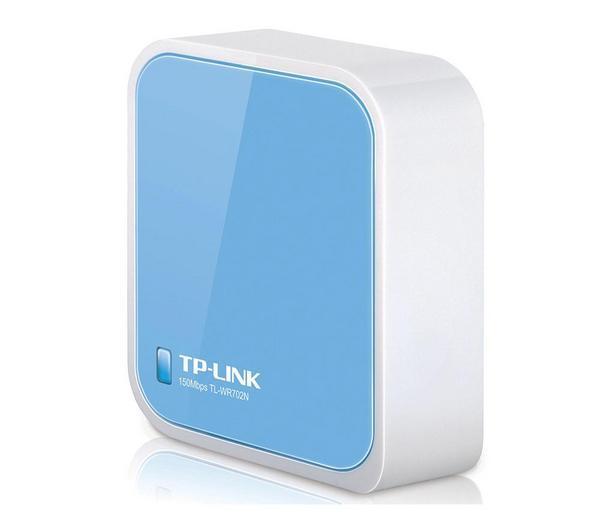 Comparer TPLINK TLWR702N BLEU