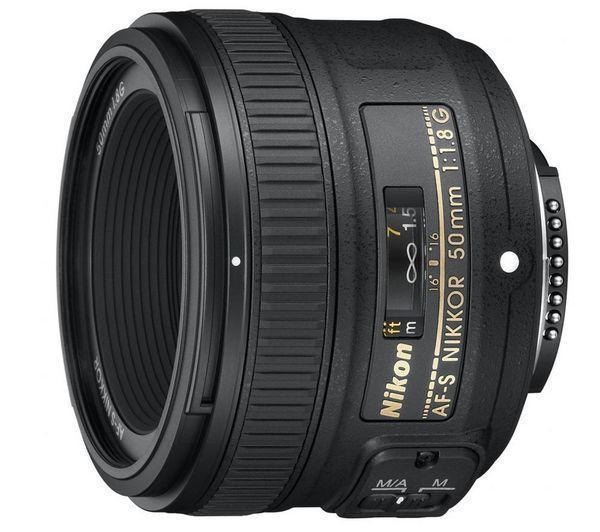 Nikkor AF-S - Lens - 50 mm - f/1.8 G - Lens voor Nikon