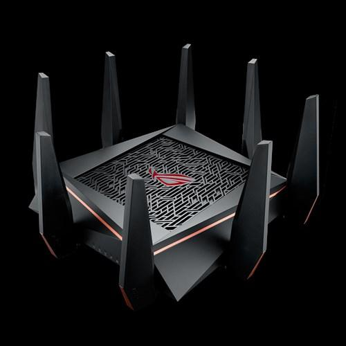 ROG Rapture GT-AC5300 routeur sans fil Tri-bande (2,4 GHz / 5 GHz / 5 GHz) Gigabit Ethernet Noir
