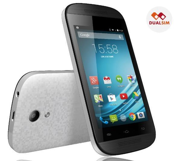 L-EMENT 350 - wit - 4 Gb - Smartphone Dual SIM