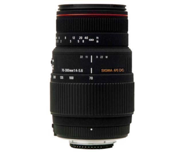 70-300mm f/4-5,6 DG APO Macro gemotoriseerde Lens voor Nikon