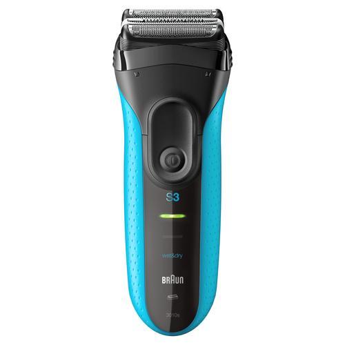 Series 3 3010 Wet   Dry afeitadora Máquina de afeitar de láminas  Recortadora Negro 263876754bc0