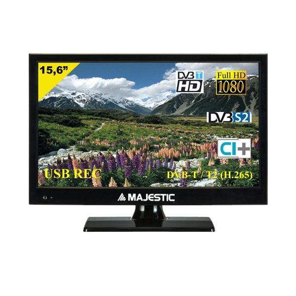 """TVD-215 S2 LED MP10 écran LED 39,6 cm (15.6"""") Full HD Noir"""