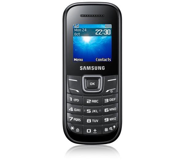 Téléphone GSM SAMSUNG E1200 NOIR