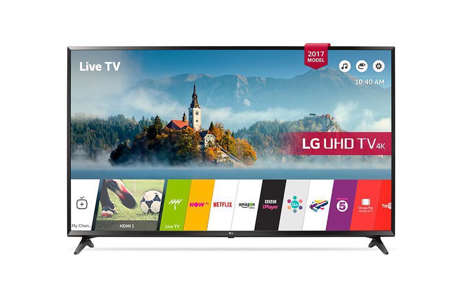 LG 55UJ630V - Téléviseur LED 4K Ultra HD Smart TV