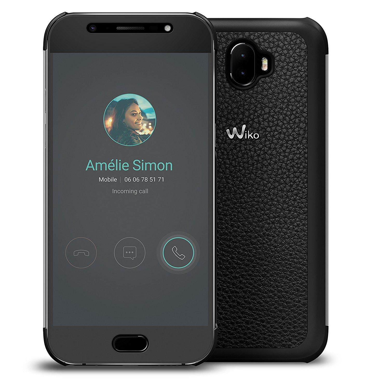 coupon code authentic sold worldwide WIKO WISFW0041 coque de protection pour téléphones portables Folio Noir