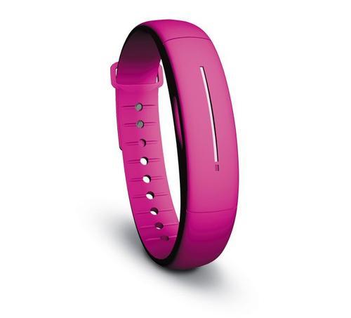 SalvalavitaGO Wristband activity tracker Rose Sans fil