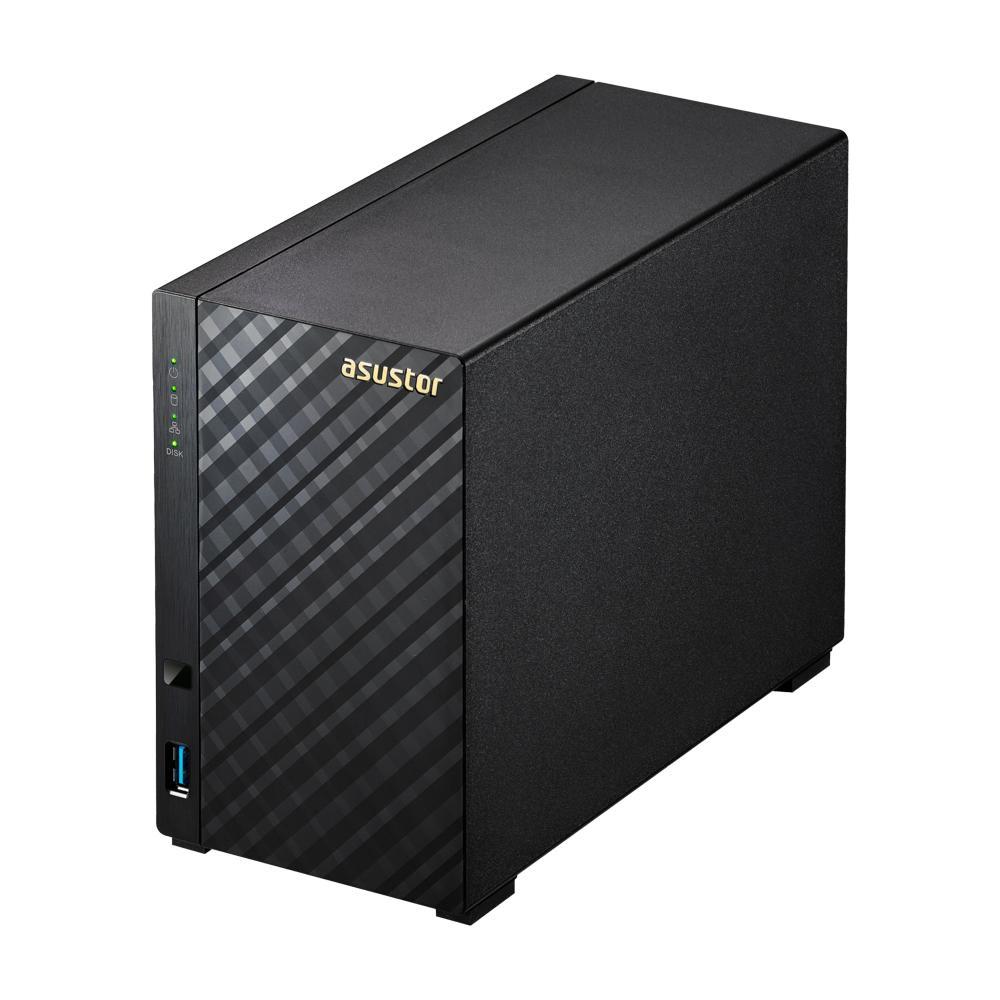 AS1002T v2 Ethernet/LAN Noir NAS