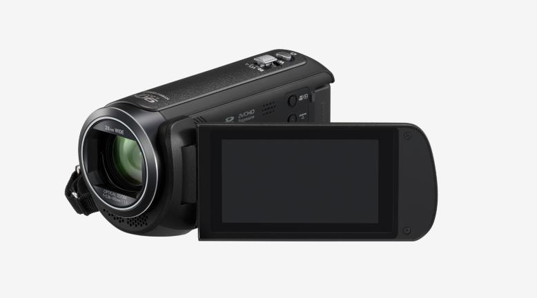 HC-V380 - Caméscope - Haute définition - 50 pi/s - 2.51 MP - 50 x zoom optique - carte Flash - Wi-Fi