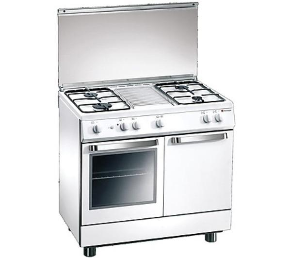 Cucine - TECNOGAS - d-982ws cucina da 90 cm 4 fuochi a gas forno a ...