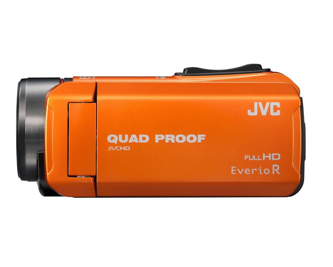 GZ-R435 2,5 MP CMOS Caméscope portatif Orange Full HD