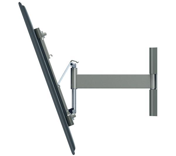 Support mural vogel 39 s thin 225 silver support mural pour t l vise - Support mural televiseur ...