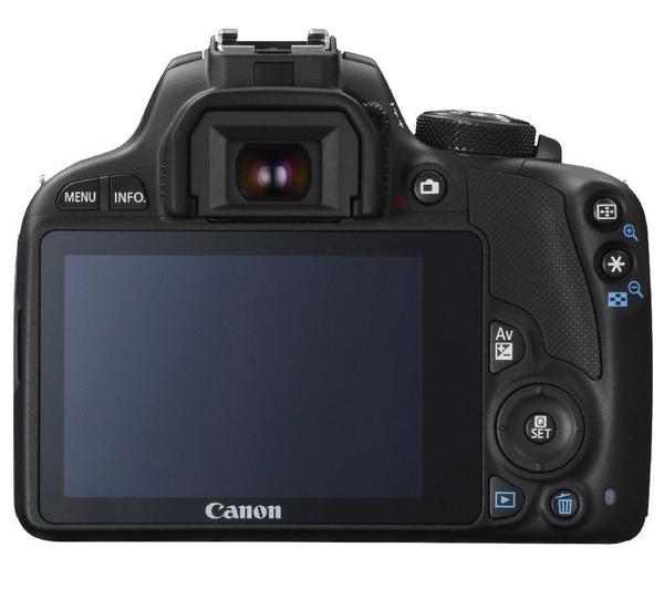 100D zonder lens