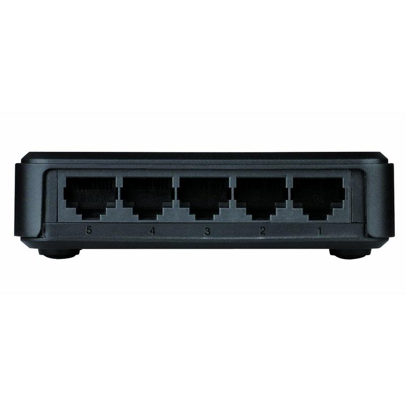 SWITCH 5 PORTS GIGA GO-SW-5G