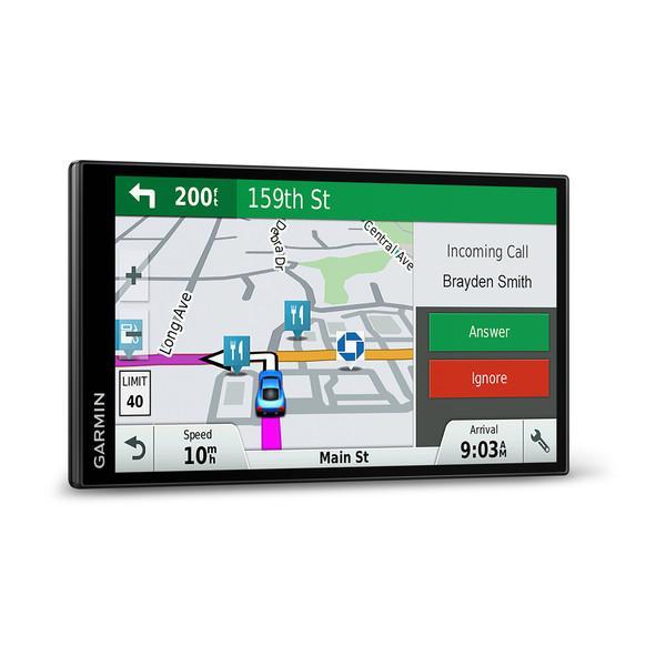 """DriveSmart 61 LMT-S navigateur 17,6 cm (6.95"""") Écran tactile TFT Fixé Noir 243 g"""
