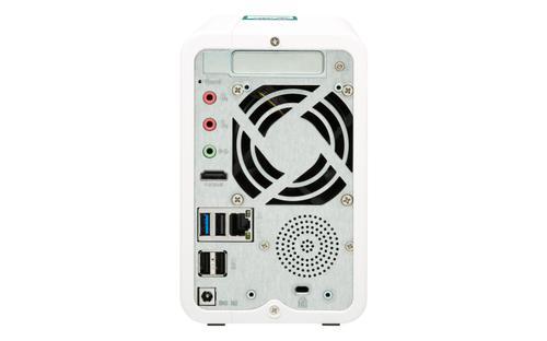 TS-251B Ethernet/LAN Tour Blanc NAS
