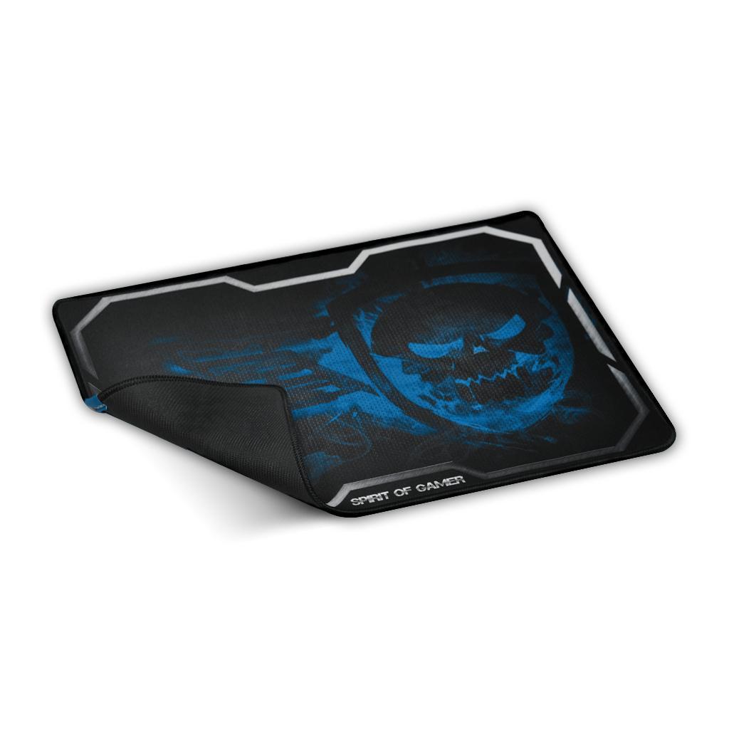 Tapis de souris Gaming ADVANCE- Texture ultrafine pour des mouvements de souris précis - Base anti dérapante - 295 x 235 x 3 mm - Bleu